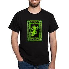 Absinth Fairy Freya with cats green T-Shirt