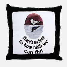 jonathan Seagull Throw Pillow