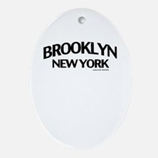 Brooklyn Ornament (Oval)