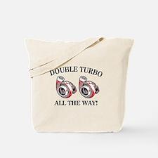 Double Turbo Tote Bag