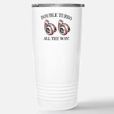 Double Turbo Stainless Steel Travel Mug