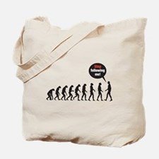 Evolution Stop Following Me Tote Bag