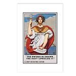 Navy Recruiting Sword Poster Art Postcards (Packag