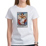 Navy Recruiting Sword Poster Art Women's T-Shirt