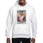 Navy Recruiting Sword Poster Art Hooded Sweatshirt