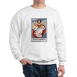 Navy Recruiting Sword Poster Art Sweatshirt