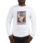 Navy Recruiting Sword (Front) Long Sleeve T-Shirt