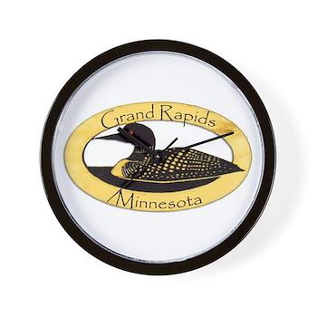 Grand Rapids Loon Wall Clock