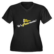 Unique Iowa hawkeyes Women's Plus Size V-Neck Dark T-Shirt