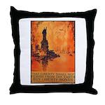 Liberty Shall Not Perish Throw Pillow