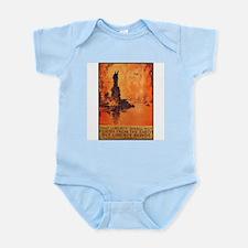Liberty Shall Not Perish Infant Creeper