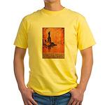 Liberty Shall Not Perish (Front) Yellow T-Shirt