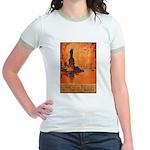 Liberty Shall Not Perish Jr. Ringer T-Shirt