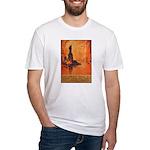 Liberty Shall Not Perish Fitted T-Shirt
