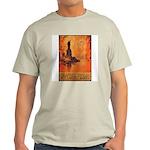 Liberty Shall Not Perish (Front) Ash Grey T-Shirt