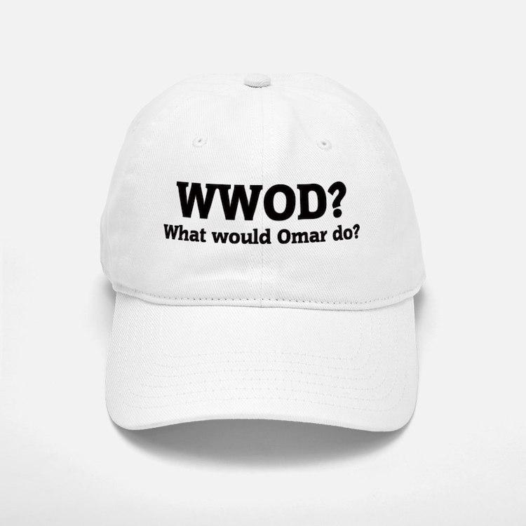 What would Omar do? Baseball Baseball Cap