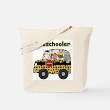 Zoo Animals Preschool Tote Bag