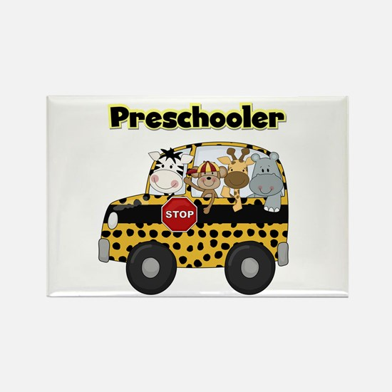 Zoo Animals Preschool Rectangle Magnet (100 pack)