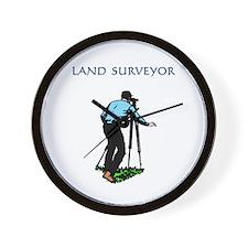 Land Surveyor Wall Clock