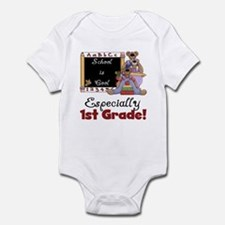 1st Grade School is Cool Infant Bodysuit