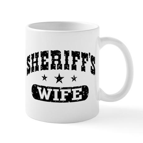 Sheriff's Wife Mug