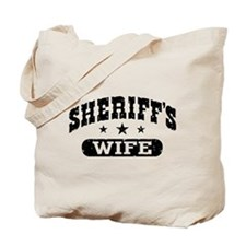 Sheriff's Wife Tote Bag