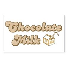 Chocolate Milk Rectangle Decal