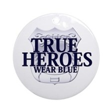 Police: True Heroes Ornament (Round)