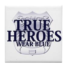 Police: True Heroes Tile Coaster