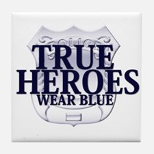 Police: True Heroes Tile Coaster