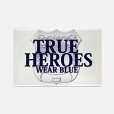 Police: True Heroes Rectangle Magnet