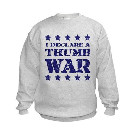 Thumb War Kids Sweatshirt