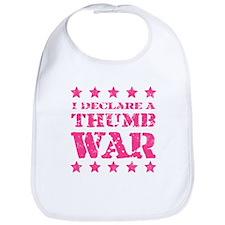 Thumb War Bib