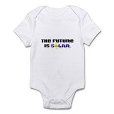 """The Future is Solar"" Infant Bodysuit"