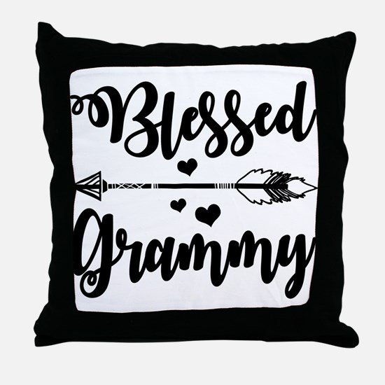 Blessed Grammy Throw Pillow