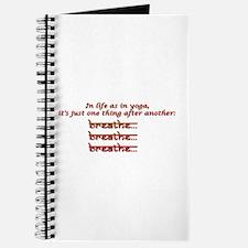 breathe, breathe, breathe Journal