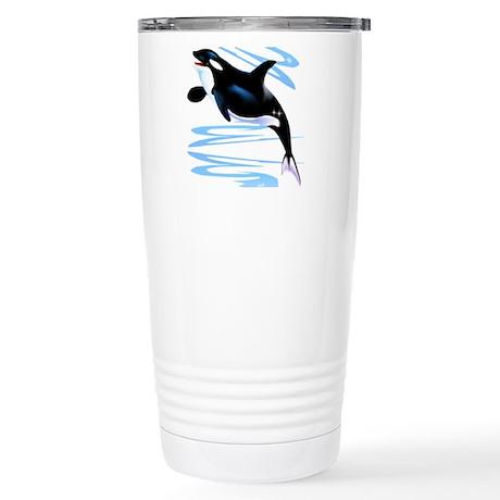 Orca Splash Stainless Steel Travel Mug