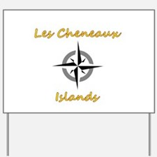 Cute Les cheneaux islands Yard Sign