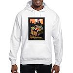 Food is Ammunition Poster Art Hooded Sweatshirt