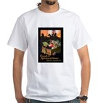 Food is Ammunition Poster Art White T-Shirt