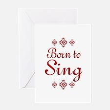 Sing Greeting Card