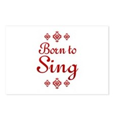 Sing Postcards (Package of 8)
