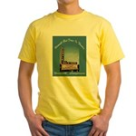 Norwalk Blvd Drive-In Theatre Yellow T-Shirt