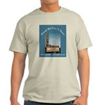 Norwalk Blvd Drive-In Theatre Light T-Shirt