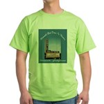 Norwalk Blvd Drive-In Theatre Green T-Shirt
