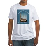 Norwalk Blvd Drive-In Theatre Fitted T-Shirt