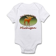 Funny Upper peninsula Infant Bodysuit