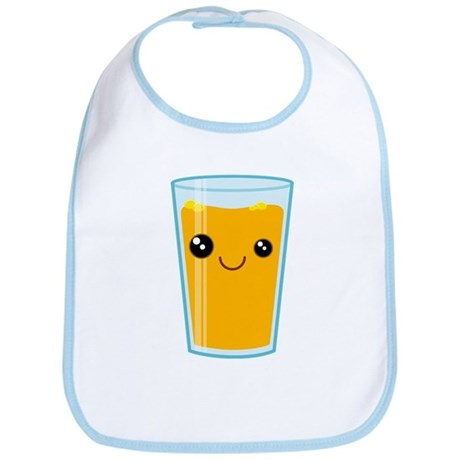 Orange Juice Bib
