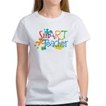 SmART Art Teacher Women's T-Shirt