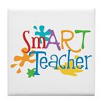 SmART Art Teacher Tile Coaster